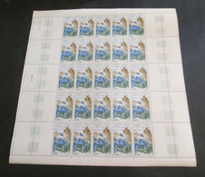 France Feuille Complète 1968 Neuf** Duguesclin  YV N° 1578 - Full Sheets