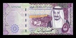 Arabia Saudí 5 Riyals 2016 Pick 38a SC UNC - Saudi Arabia