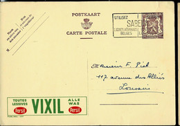 Publibel Obl. N° 887 ( Toutes Léssives VIXIL Produit Persil) Obl. Flamme SABENA  (1950) - Publibels