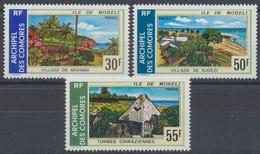 Komoren, MiNr. 187-189, Postfrisch / MNH - Komoren (1975-...)