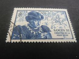 Louis XI - Le Prudent (1423-1483) Roi - 2f.+3f. - Bleu - Oblitéré - Année 1945 - - Oblitérés