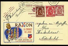 Publibel Obl. N° 781 ( RAXON - La Cravate Du Jour) Obl. 1953 - Publibels