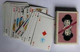 Jeu Ancien De 32 Cartes à Jouer Publicitaitaire TOTAL Syndicat National Des Maitres Cartiers - 32 Cards