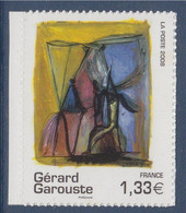 Gérard Garouste Peintre, Oeuvre De L'artiste Adhésif N°222 (4244) - KlebeBriefmarken