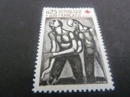 Croix-Rouge - Georges Rouault (1871-1958) L'Aveugle Et Le Voyant - 25c.+10c. - Noir Et Sépia - Neuf - Année 1961 - - Nuovi