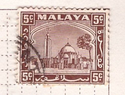 PIA - MALESIA - SELANGOR  : 1939-41 - Moschea Del Palazzo Di Klang - (Yv  32) - Selangor