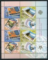 Mazedonien 370/3 Kleinbogen        **  MNH               (004) Europa - Mazedonien