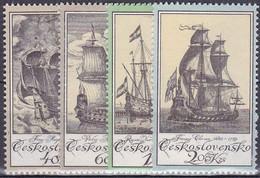 ** Tchécoslovaquie 1976 Mi 2330-3 (Yv 2167-70), (MNH) - Unused Stamps