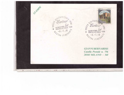 """TEM14384  -  CIVITAVECCHIA 3.7.1998  /  MOSTRA ITINERANTE """" ECOTOUR '98  GLOBO D'ORO """" PREMIO INT.LE PER L'AMBIENTE - Environment & Climate Protection"""