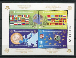 Bosnien Und Herzegowina Block 27 A        **  MNH               (009) Europa - Bosnia And Herzegovina