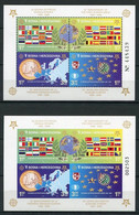 Bosnien Und Herzegowina Block 27 A + B        **  MNH               (011) Europa - Bosnia And Herzegovina