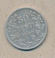 België/Belgique 50 Ct Leopold II 1909 Vl Morin 205 (134760) - 06. 50 Centimes