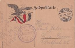 ALLEMAGNE   1915 CARTE DE FELDPOST DE MERZIG - Storia Postale