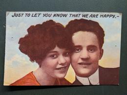 HUMOUR ANGLAIS JUST TO LET KNOW THAT WE ARE HAPPY  JUSTE POUR FAIRE SAVOIR QUE NOUS SOMMES HEUREUX - Couples