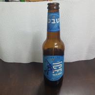 ISRAEL- ICE-HELLES LAGER-beer(Alcohol-5.2%)-(330ml)-(17/12/21)-bottle Used - Beer