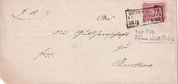 ALLEMAGNE   LETTRE DE MÜNCHEBERG - Storia Postale