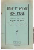 CHARLEROI Théâtre Wallon Titine Et Polyte Mon L'juge - Belgio