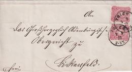 ALLEMAGNE  1875 LETTRE DE TRIER - Storia Postale