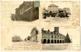 La GUERCHE-de-BRETAGNE - 5 Cartes  - Voir Scans - La Guerche-de-Bretagne