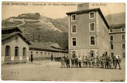 GRENOBLE - Caserne Du 18ème Génie Télégraphiste Et Les Forts  - Voir Scan - Grenoble