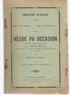 CHARLEROI Théâtre Wallon Nègue Pa Occasion - Belgio