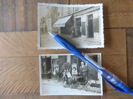79 NIORT EPICERIE ET CAFE CHANZY L.GUITTON 1938 PLACE CHANZY - 2 PHOTOS - DEUX SEVRES - BIERRE WEBEL - Niort