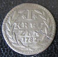 Francfort / Frankfurt - Monnaie 1 Kreuzer 1782 - Piccole Monete & Altre Suddivisioni