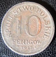 Pologne / Poland / Polska - 10 Fenigow 1917 - Pologne