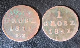 Pologne / Poland / Polska - 2 X 1 Grosz 1811 - Pologne