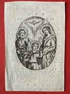 1845 - PRIESTER - DECES - OVERLIJDEN - J.J.A. DE BRUYN - ANTWERPEN - Devotion Images