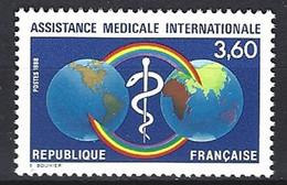 France Yv 2535 -Assistance Médicale Internationale ** - Primeros Auxilios