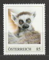 Österreich Personalisierte BM Tierkinder Im Tiergarten Schönbrunn Katta ** Postfrisch - Private Stamps