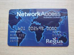 Regus Membership Card - Chiavi Elettroniche Di Alberghi