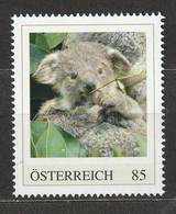 Österreich Personalisierte BM Tierkinder Im Tiergarten Schönbrunn Koala ** Postfrisch - Private Stamps