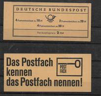 BRD, Postfrisches Markenheft Der Ausgabe  Von 1967, Brandenburger Tor, Ungeöffnet - Carnets