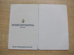 InterContinental Doha,Ocean Friendly Plastic Free Card - Chiavi Elettroniche Di Alberghi