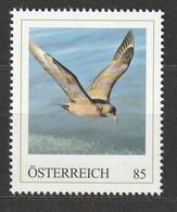 Österreich Personalisierte BM Arktische Tierwelt Große Raubmöwe ** Postfrisch - Private Stamps