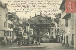 CPA De TULLE - Place Ménoire (Cliché Legendre Rodolphe).. - Tulle