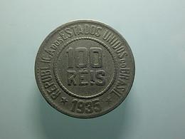 Brazil 100 Reis 1935 - Brazil