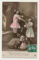 Carte Fantaisie - Enfants Avec Jouets De Noël - Autres