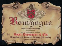 Bourgogne // Roger Duspasquier Et Fils - Bourgogne