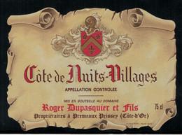 Bourgogne // Côte De Nuits-Village ,Roger Duspasquier Et Fils - Bourgogne