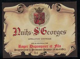 Bourgogne // Nuits-St.Georges ,Roger Duspasquier Et Fils - Bourgogne