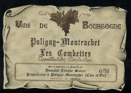 Bourgogne // Paligny-Montrachet, Les Combettes, Etienne Sauzet - Bourgogne