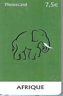 -CARTE²-FRANCE-PREPAYEE-7,5€-SYMACOM-ELEPHANT-Gratté TBE- - Giungla