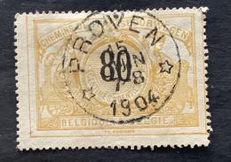 TR24 Gestempeld CIRKELSTEMPEL RELAIS PROVEN - 1895-1913