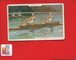 THOMPSON'S Chromo Allemande  SPORT Aviron Boote Course - Thé & Café