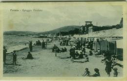 FORMIA ( LATINA ) SPIAGGIA VENDICIO - EDIZIONE GUERINO D'ELIA - SPEDITA 1926 ( 7705) - Latina