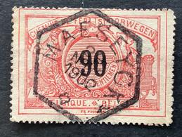 TR25 Gestempeld MAESEYCK  (Privé-lijn Hasselt-Maaseik) - 1895-1913