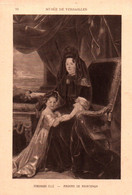 CPA - Madame De MAINTENON (Portrait) ... Edition Braun Cie - Donne Celebri